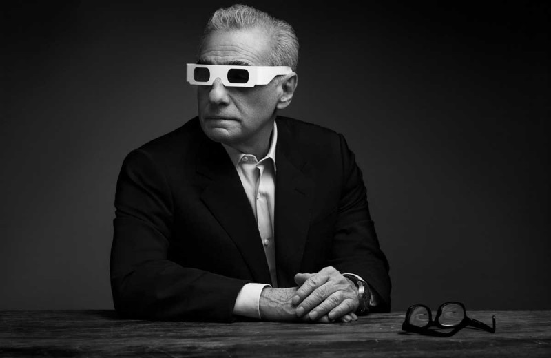 Martin Scorsese photographed by Art Streiber