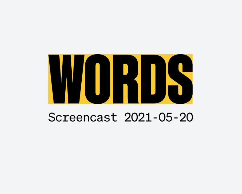 Words Graphic