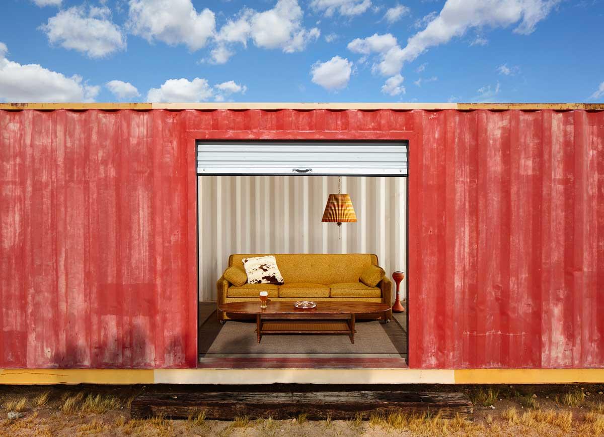 Ben Clasen—Container Living Room