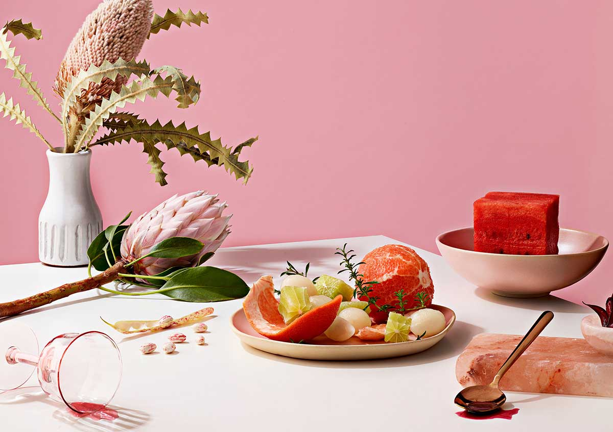 Photographer Michael Maes tabletop image of fruit